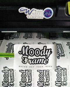 Stiker label kemasan cromo