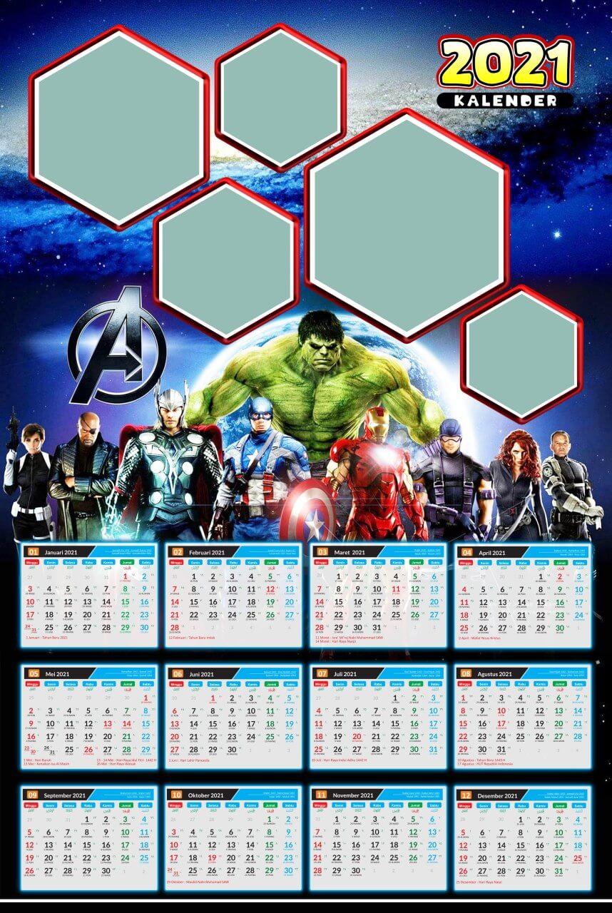 kalender 2021 template 3