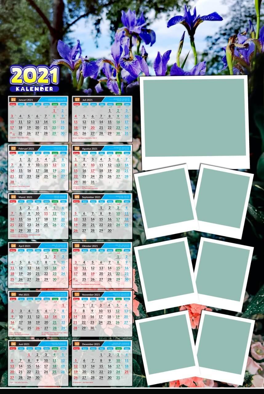 kalender 2021 template 5