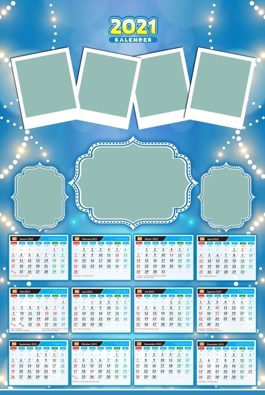 kalender 2021 template 10