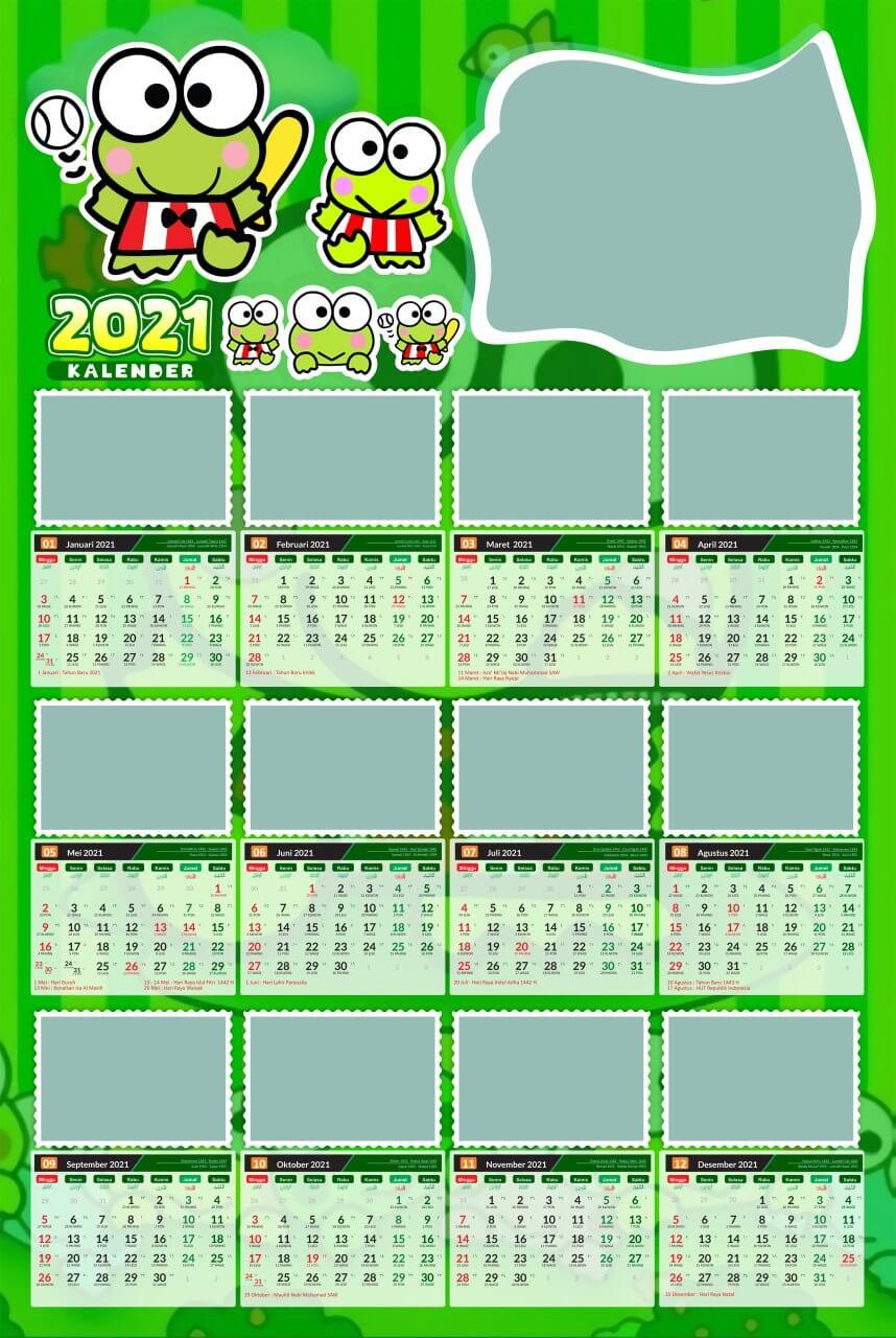 kalender 2021 template 11