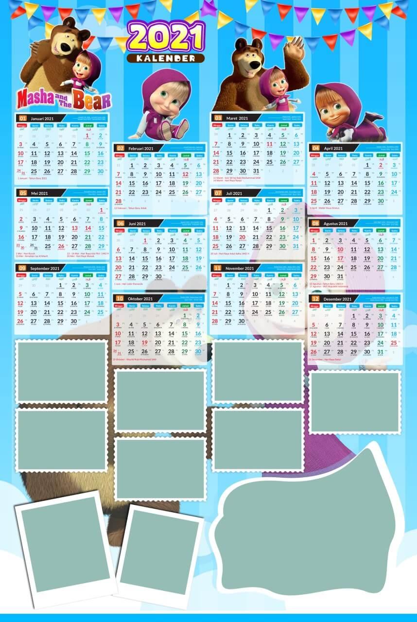 kalender 2021 template 13