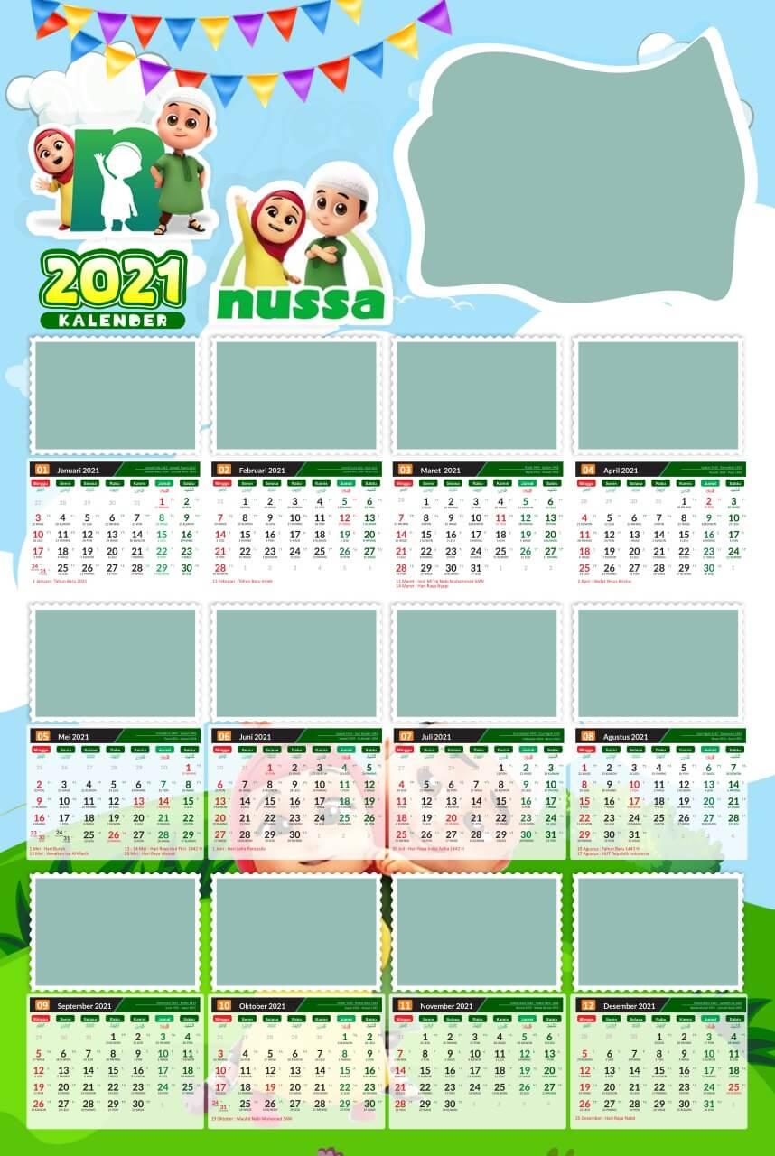 kalender 2021 template 14