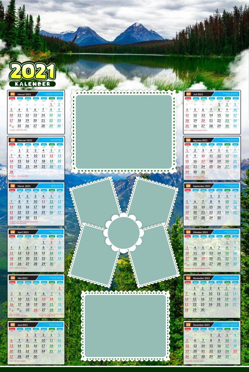kalender 2021 template 16