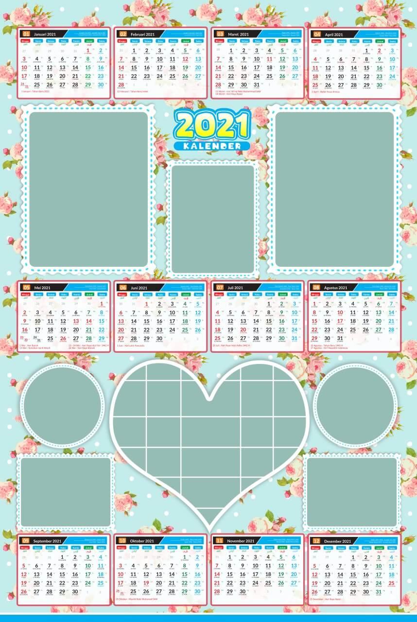 kalender 2021 template 18