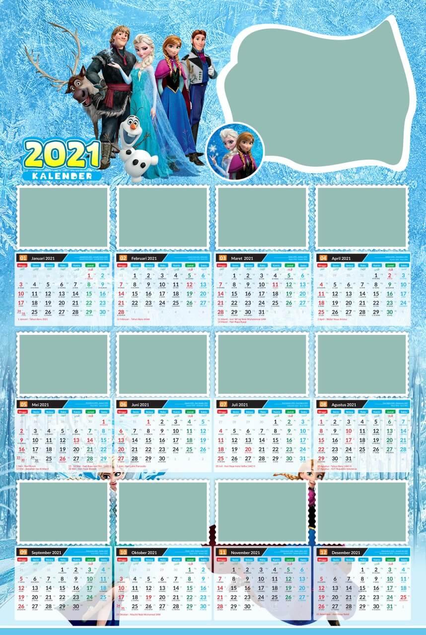 kalender 2021 template 7