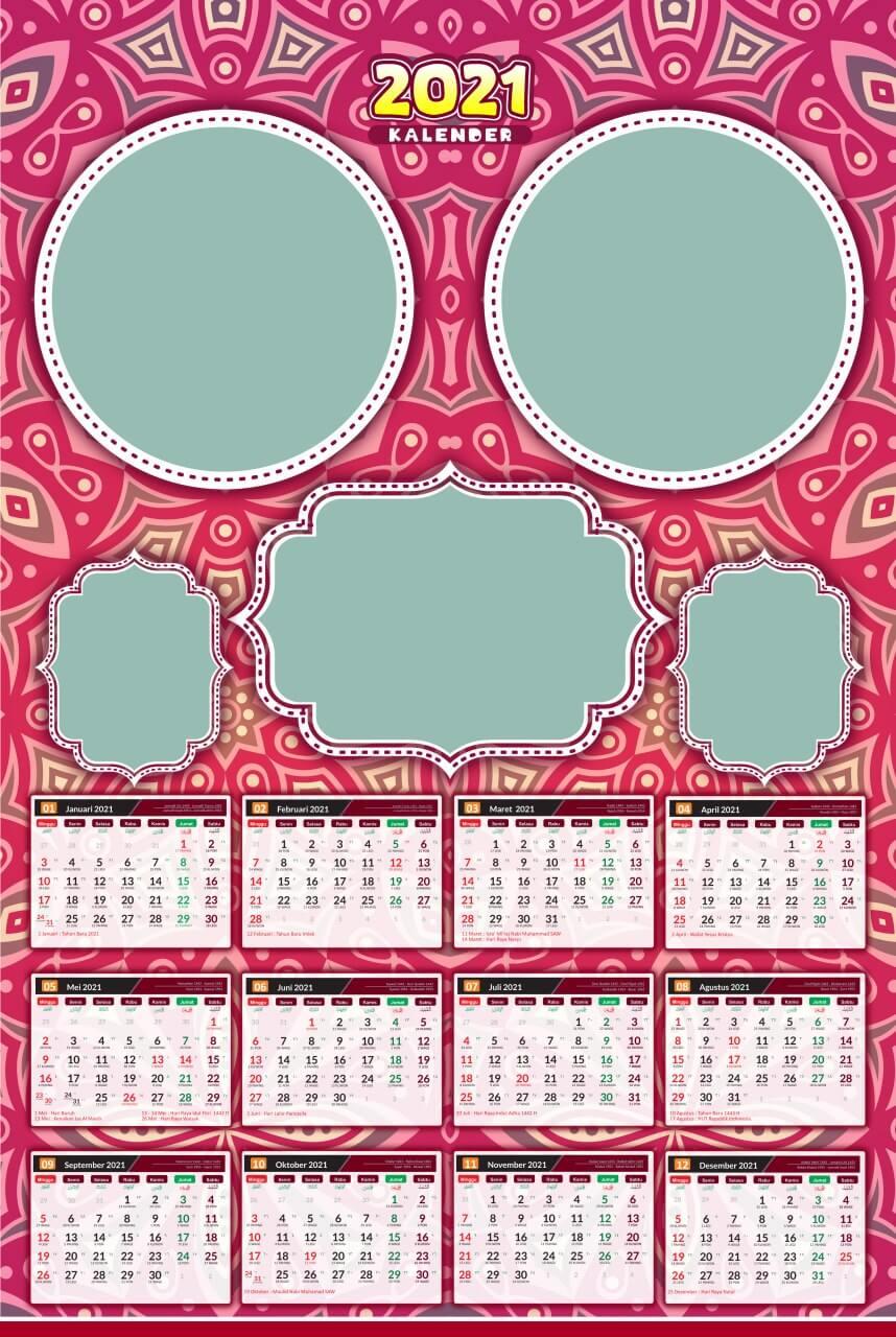 kalender 2021 template 9