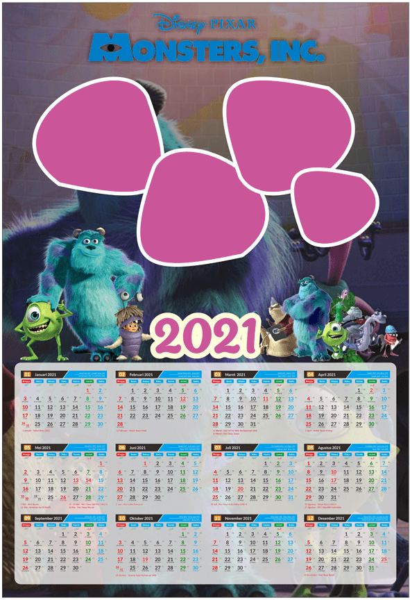 2021 - MONSTER INC